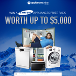 Win a Samsung appliances prize pack worth up to $5,000!