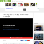 Win a Samsung Galaxy S7 Edge!