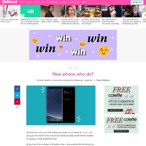 Win a Samsung Galaxy S8 & amaysim Unlimited 14GB Bundle