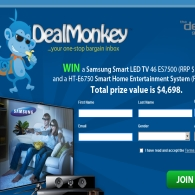 Win a Samsung Smart LED TV 46