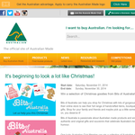 Win a selection of Christmas goodies from Bits of Australia!