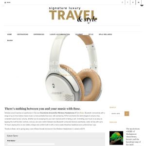 Win a set of BOSE Soundlink Around-Ear Wireless Heapdhones II!
