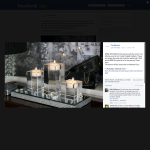 Win a set of crystal tealight holders!