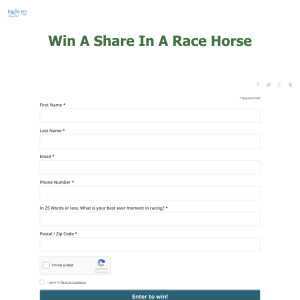 Win a share in a race horse! (NSW Residents ONLY)