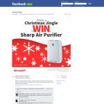 Win a Sharp Air Purifier!