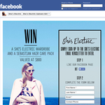 Win a 'She's Electric' wardrobe & a Sebastian hair care pack, valued at $800!