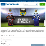 Win a signed 'All Stars' jersey!