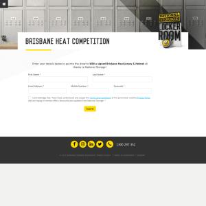 Win a signed Brisbane Heat Jersey & Helmet