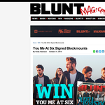 Win a signed copy of Blockmounts