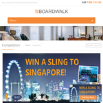 Win a sling to Singapore!
