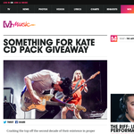 Win a 'Something for Kate' CD pack!
