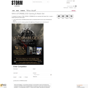 Win a 'STORMBLOOD' gaming & watch set!