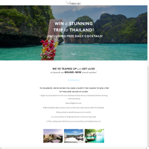Win a Stunning Trip to Thailand