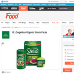 Win a Sugarless Organic Stevia Pack