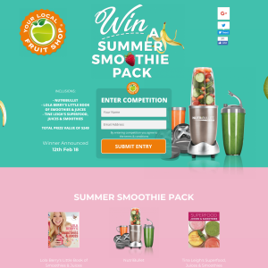 Win a Summer Smoothie Pack