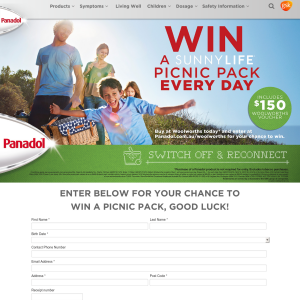 Win a Sunnylife Picnic Pack