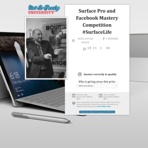 Win a Surface Pro 4 + MORE!