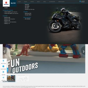 Win a Suzuki DR-Z70 Fun Bike/QuadSport Z50 Fun ATV Worth Up to $2,890 & Riding Apparel