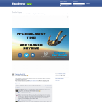 Win a Tandem Skydive Experience