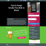 Win a Test & Keep Kindle Fire 8GB in Black