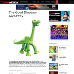 Win a The Good Dinosaur toy pack