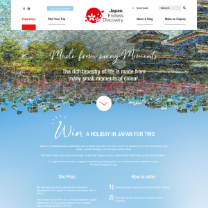 Win a Tour of Southern Japan for 2