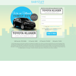 Win a Toyota Kluger