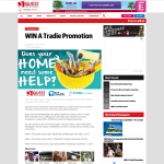 Win a Tradie Promotion