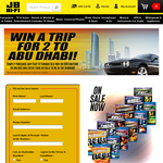 Win a trip for 2 to Abu Dhabi!