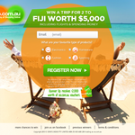 Win a Trip for 2 to Bali Worth $5,000