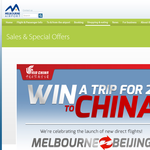 WIn a trip for 2 to China!
