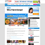 Win a trip for 2 to Europe!