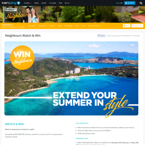 Win a trip for 2 to Hamilton Island! (Codeword Required)