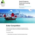 Win a trip for 2 to Hong Kong!