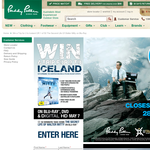 Win a trip for 2 to Iceland or 1 of 50 copies of 'The Secret Life of Walter Mitty'!