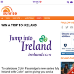 Win a trip for 2 to Ireland!