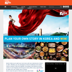 Win a trip for 2 to Korea!