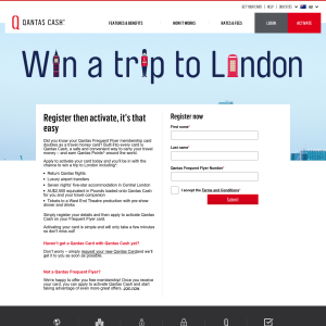 Win a trip for 2 to London! (Registration Required)