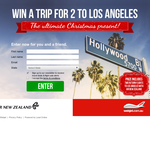 Win a trip for 2 to Los Angeles!