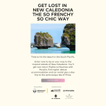 Win a trip for 2 to New Caledonia!