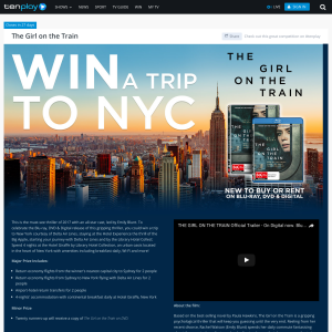 Win a trip for 2 to New York!