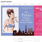 Win a trip for 2 to Paris!