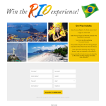 Win a trip for 2 to Rio!