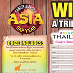 Win a trip for 2 to Thailand!