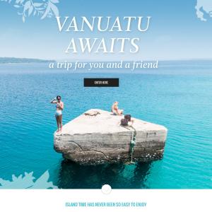 Win a trip for 2 to Vanuatu!