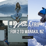 Win a trip for 2 to Wanaka, New Zealand!