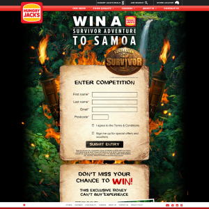 Win a trip for 4 to Samoa!