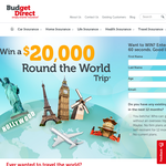 Win a trip for two worth $20,000!