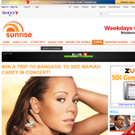 Win a trip to Bangkok to see Mariah Carey in concert!