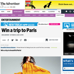 Win a trip to beautiful Paris!